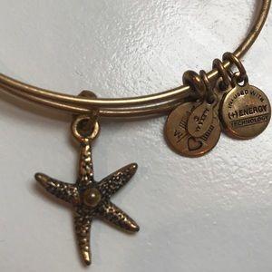 Classic Alex and Ani gold bracelet
